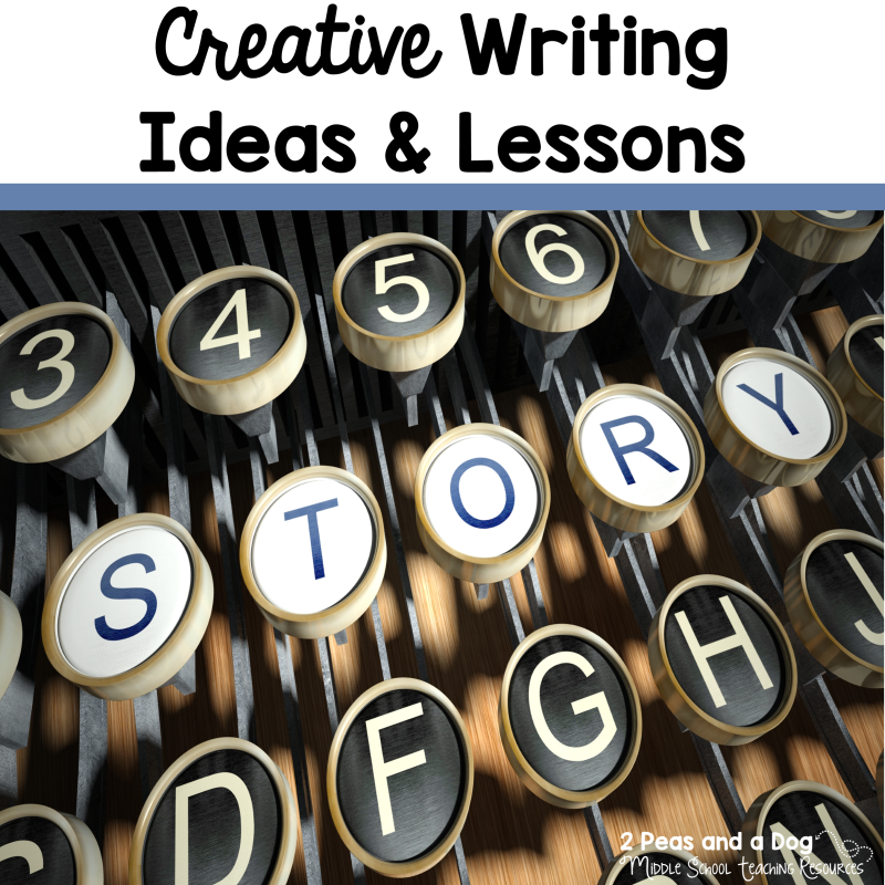 creative writing lesson ideas