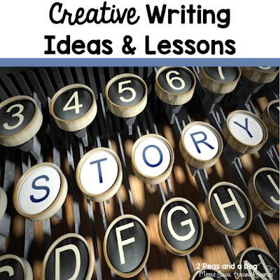 The priority in today's education system is non-fiction and essay writing. It can be hard to remember that students enjoy the opportunity to flex their creative muscles with creative writing assignments. In this blog post, teachers share their best ideas for incorporating creative writing opportunities in the English Language Arts classroom from the 2 Peas and a Dog blog.