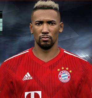 PES 2017 Faces Jérôme Boateng by Facemaker Huseyn