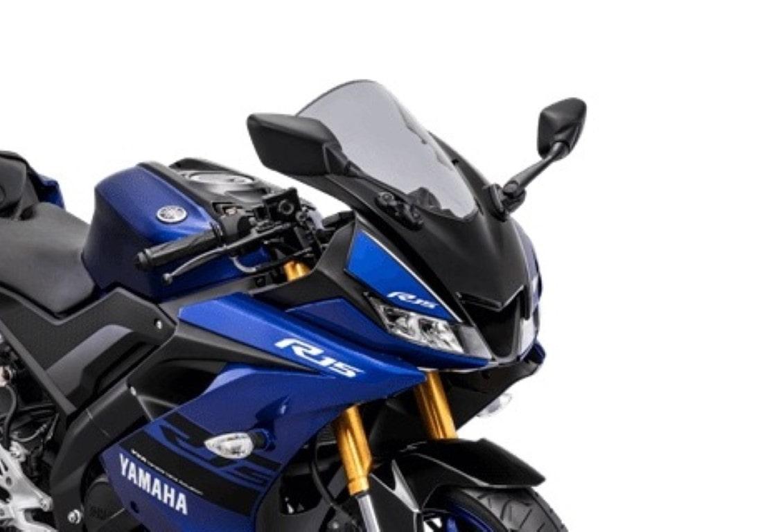 Yamaha Indonesia resmi rilis warna dan striping baru All New R15 V3 2018, tabung suspensi jadi warna emas sob !