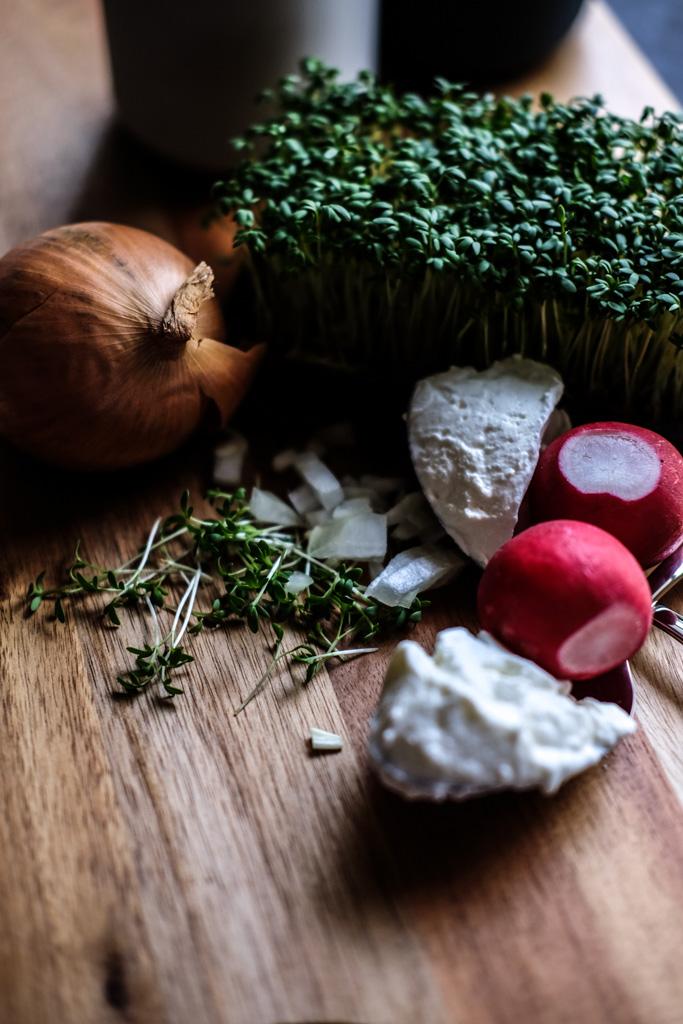 www.fim.works | Lifestyle Blog | Rezept und Zutaten für einen Quark-Schmand-Kresse-Dip