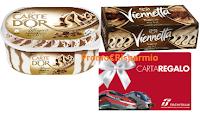 Logo Con Algida vinci 250 carte regalo Trenitalia da 100€