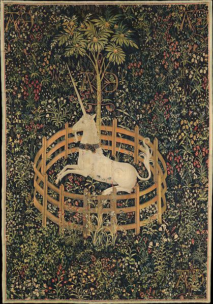 El Unicornio en cautividad, 1495–1505.