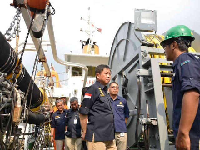 Badan Litbang ESDM Usulkan Kapal Multipurpose Geomarin V Untuk Survei Bawah Laut,