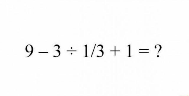 هذه المسألة عجز 40 % من اليابانين على حلها فهل تستطيع أنت  ؟ إليكم الحل !!