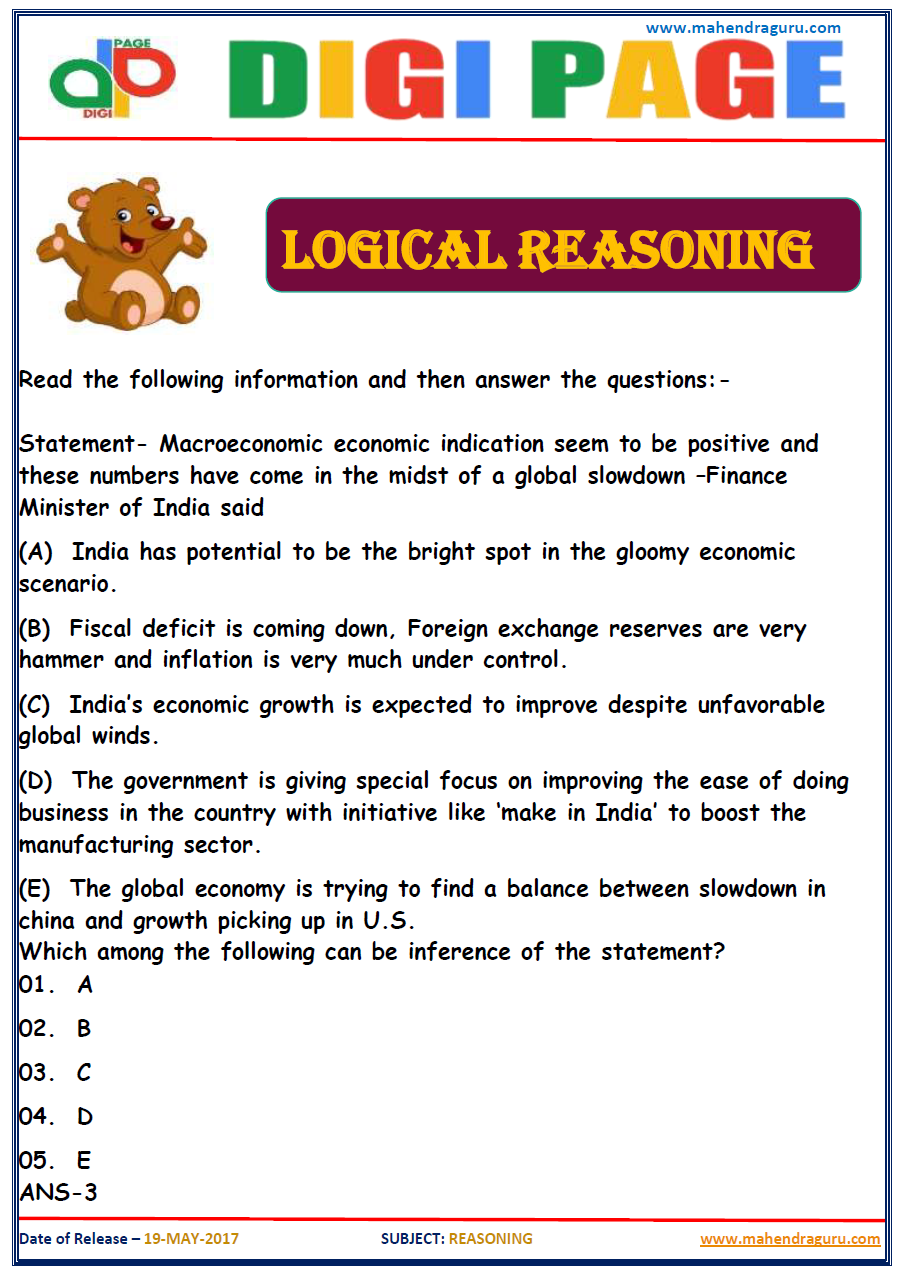 analytical reasoning and logical thinking Logical reasoning tests are arguably the toughest form of aptitude test use this guide to learn expert tips and try a few logical reasoning practice tests 4 useful starting-point resources get hold of our recommended logical reasoning practice tests here read.