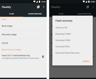 Install TWRP Recovery Asus Zenfone 6