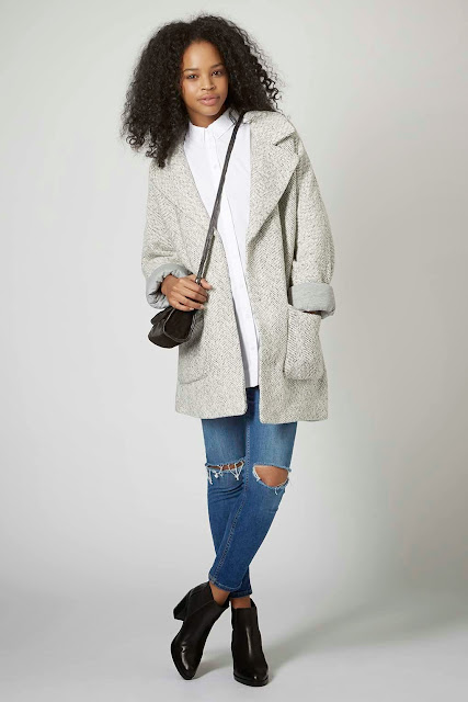 light grey wool jacket