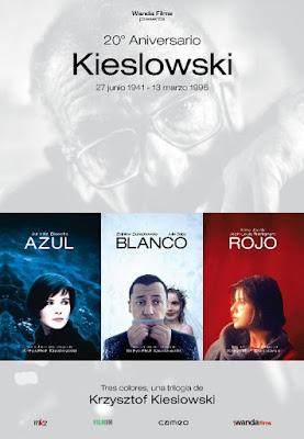 trilogía de Krzysztof Kieslowski Tres Colores