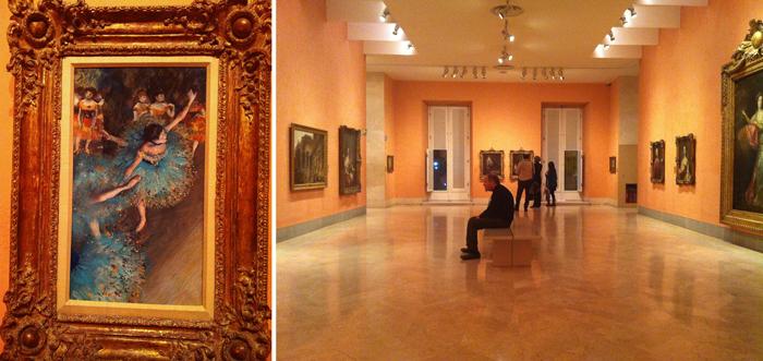 Valentina Vaguada: museo, museum, Thyssen-Bornemisza, Degas, Ballerinas, art, Madrid, spain
