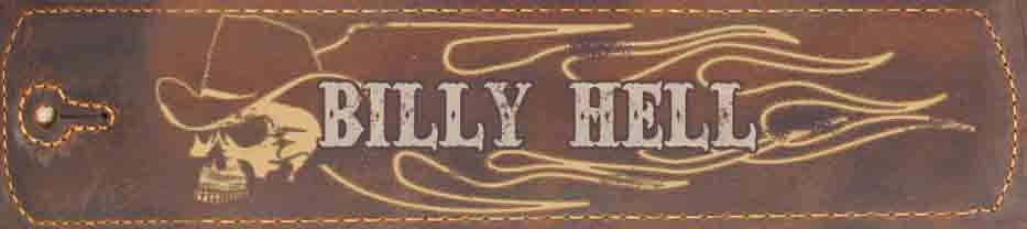 Billy Hell - Leather, Guitars, Amps and Mods
