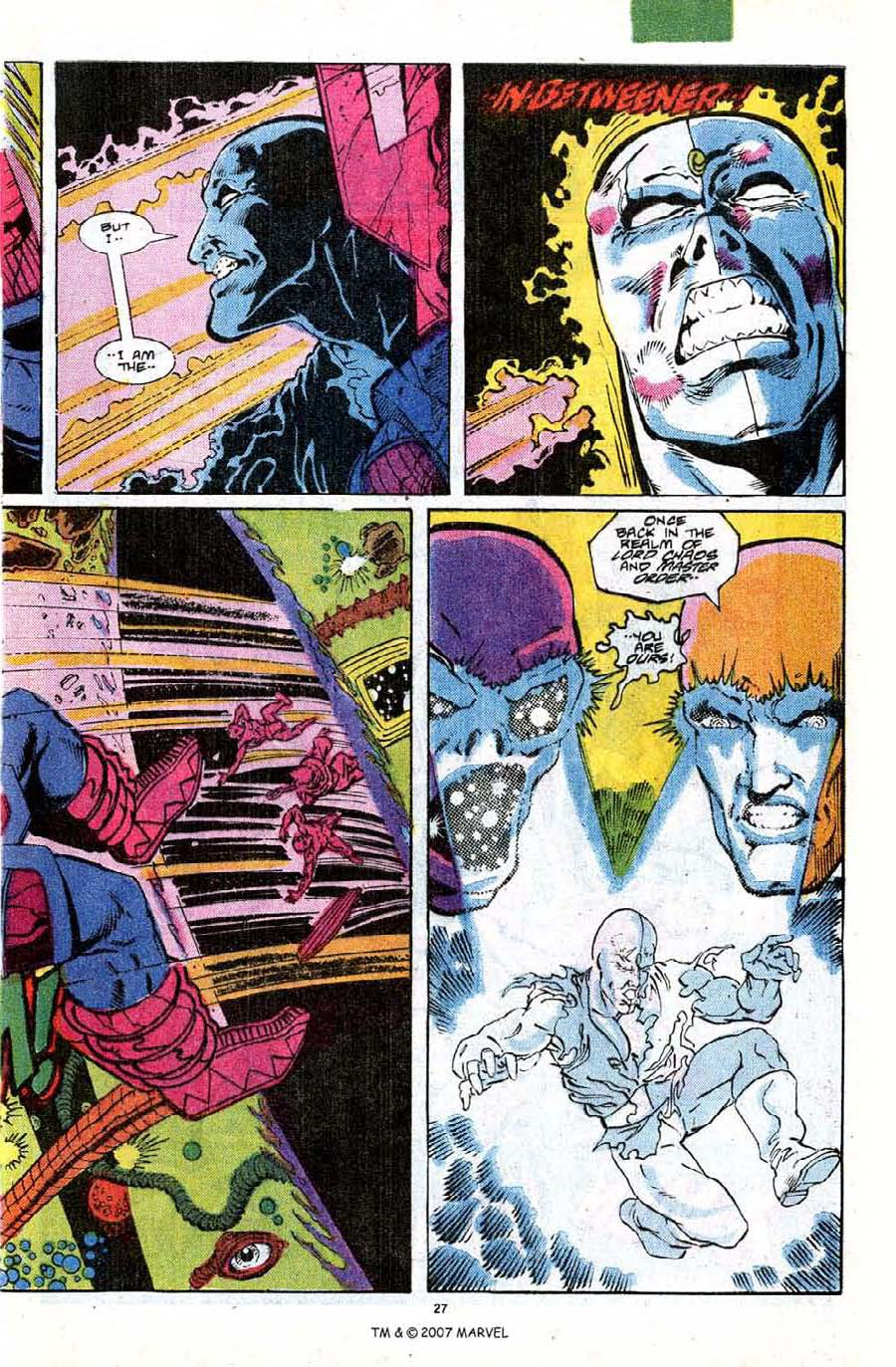 Read online Silver Surfer (1987) comic -  Issue #18 - 29