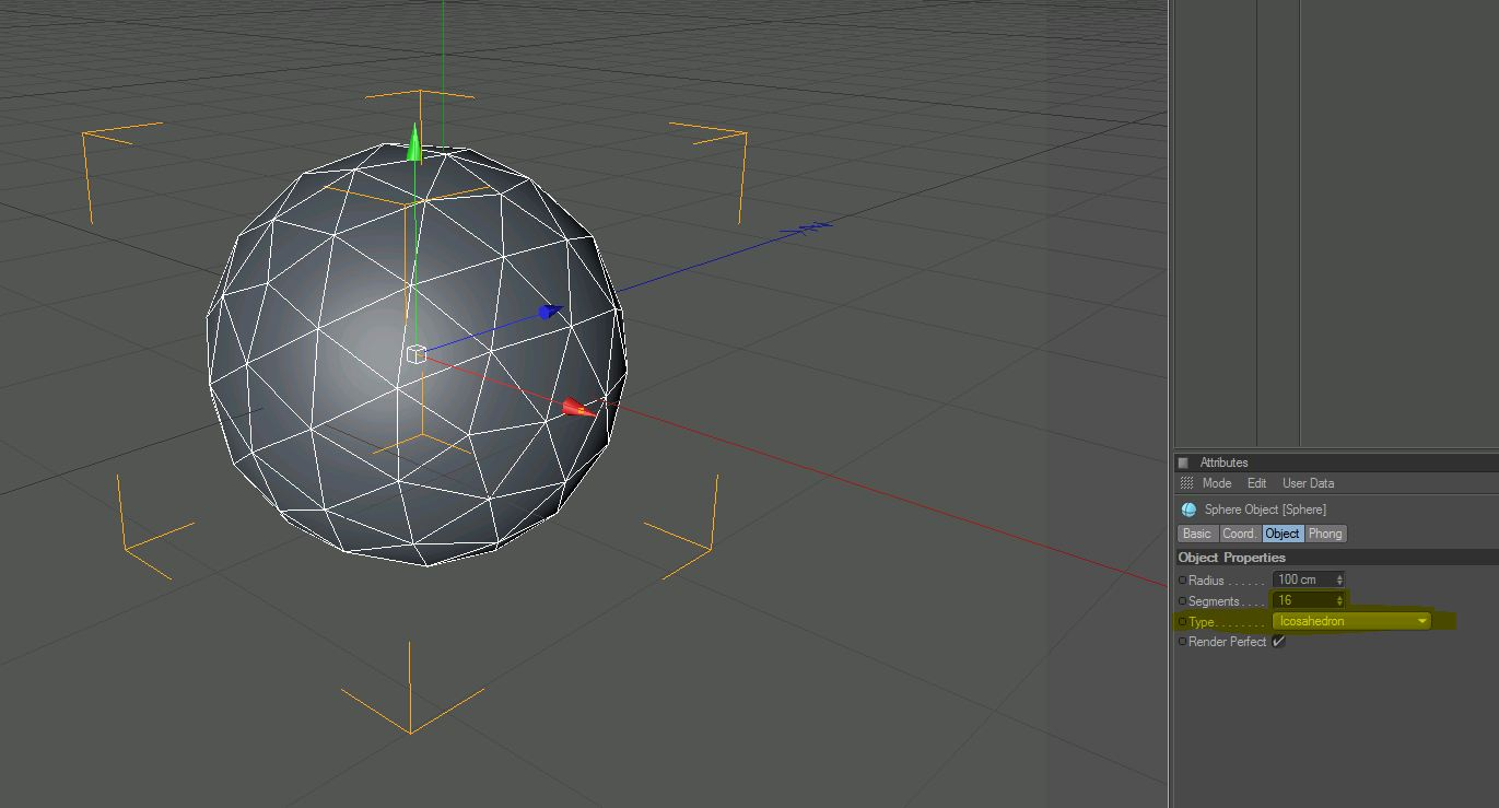 Cinema 4D ChaoS: How to make a see-thru cage ball