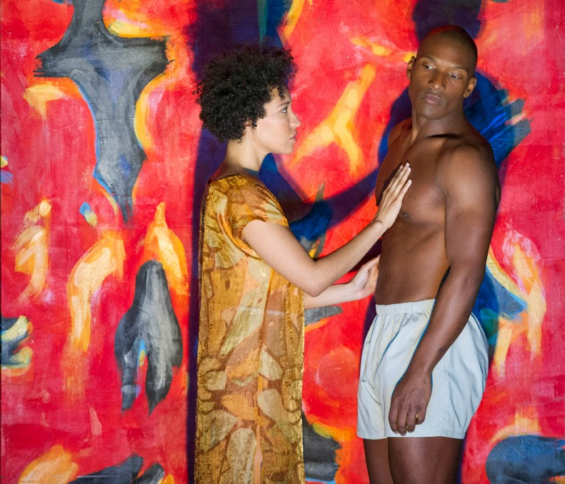 Julia Bullock, Noah Stewart - The Indian Queen - ENO - photo credit Richard Hubert Smith