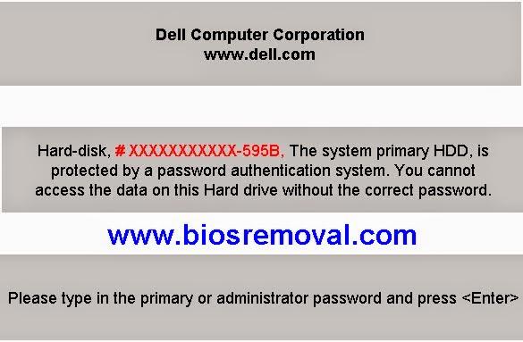 RemRemoving Dell Latitude 120L Bios passwordoving Dell