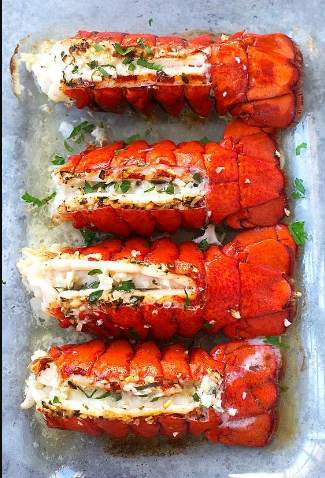 Garlic Butter Lobster Tail Recipe