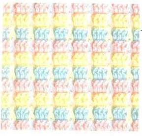 Patrón #822: Punto Tupido a Crochet