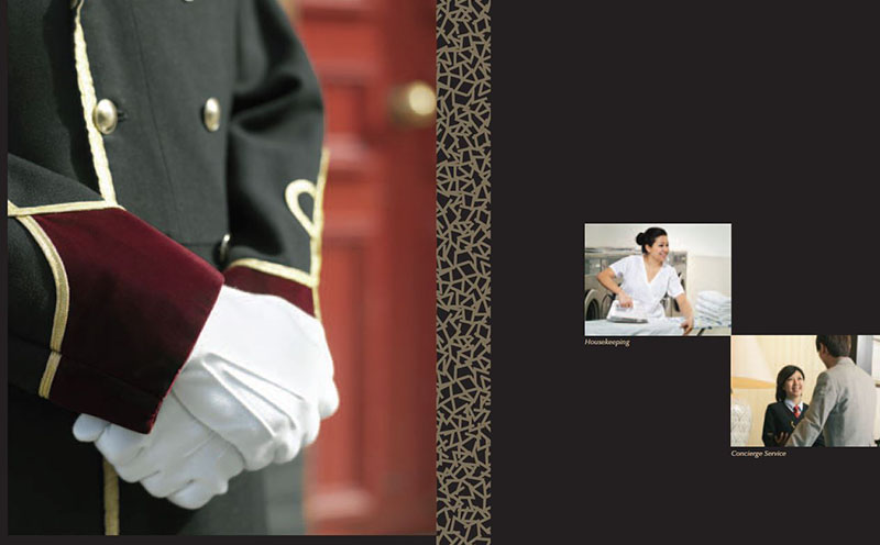 concierge service on hand