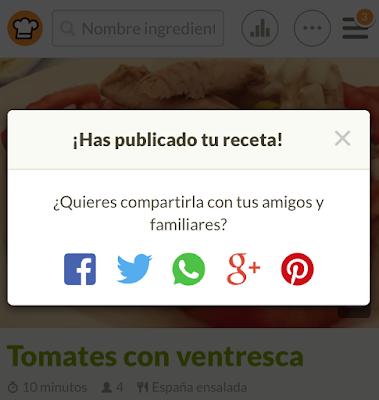 Envía y comparte tus recetas paso a paso por WhatsApp