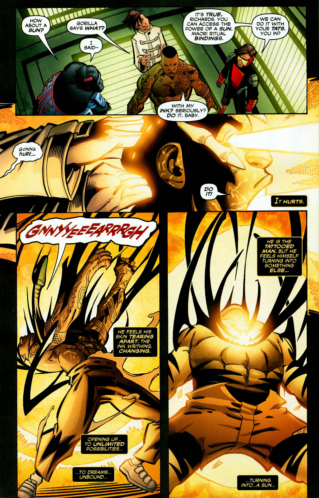 Read online Trinity (2008) comic -  Issue #27 - 30