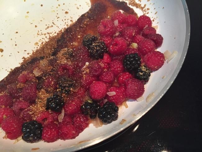 Chutney de frutos rojos