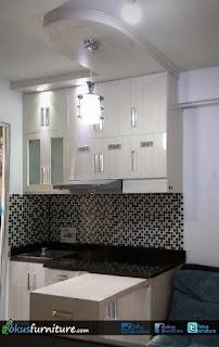 Gambar lemari dapur apartemen