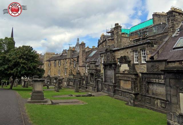 Escocia, Edimburgo, Cementerio Greyfriars