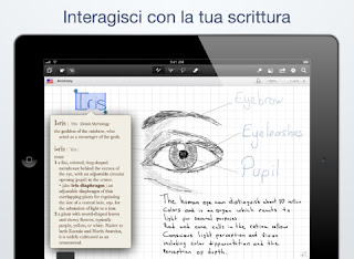 L'app MyScript Notes Mobile