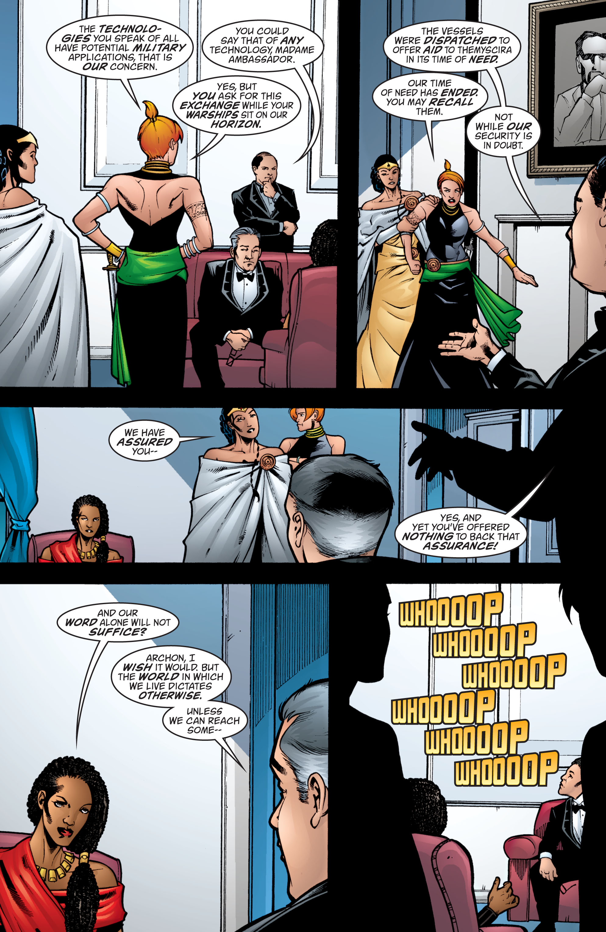 Read online Wonder Woman (1987) comic -  Issue #208 - 17