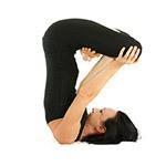 Lotus in Shoulder Stand Pose (Padma Sarvangasana)