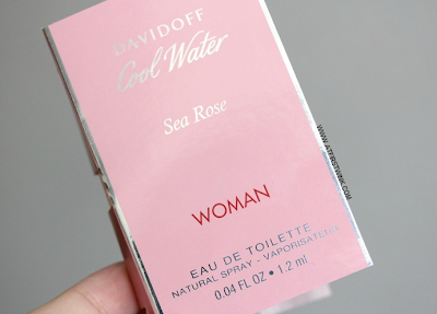 Davidoff Cool Water Sea Rose sample review