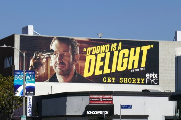 Get Shorty ODowd delight 2018 Emmy FYC billboard