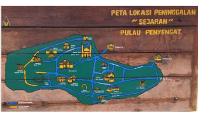 Peta Wisata Pulau Penyengat Mesjid Penyengat