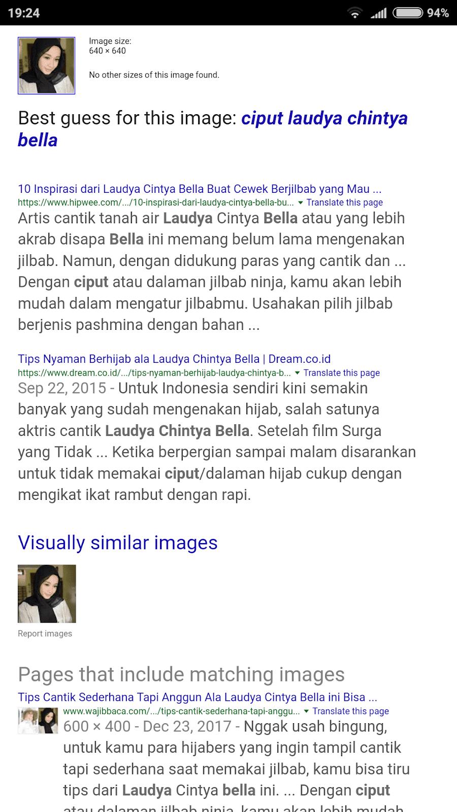 Fake Profil Kempan Barisan Nasional di Whatsapp Artis Indonesia Bantu