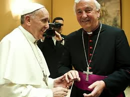 Pope and Vincent Nichols