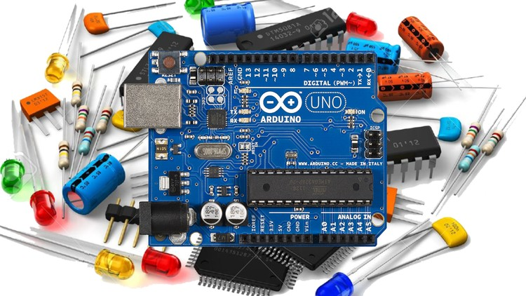 Arduino Projects for Engineers (Complete guide with Proteus) - Udemy Course