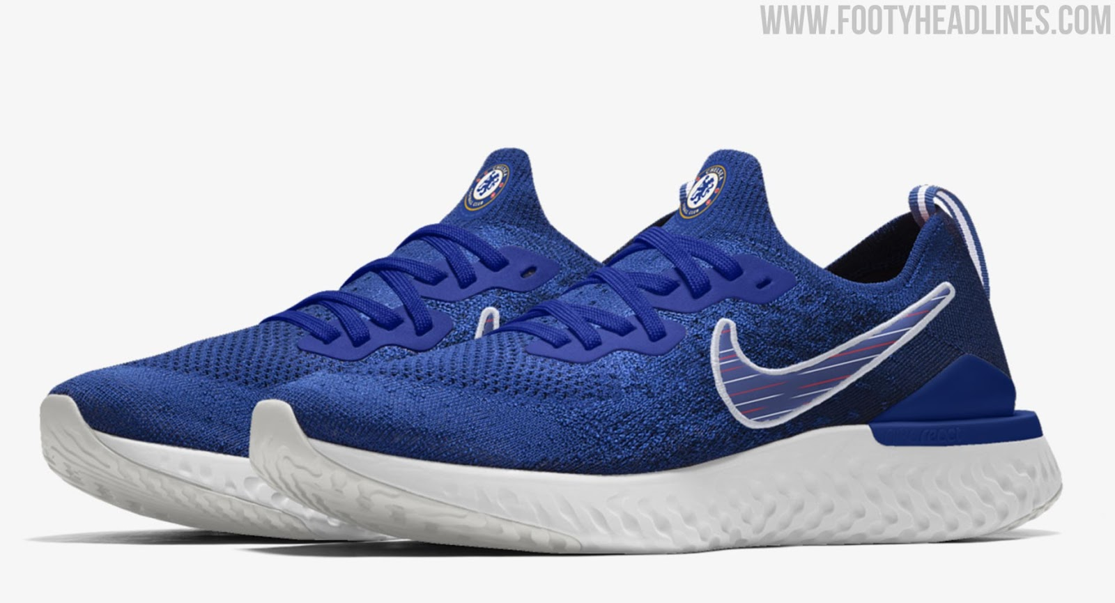 d3dd5626f9802 2 Nike Chelsea x Epic React Flyknit 2 Shoes Released - Footy ...