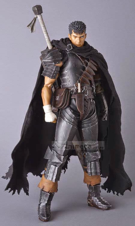 FIGURA GUTS Black Swordsman Ver. REAL ACTION HEROES No.704 BERSERK