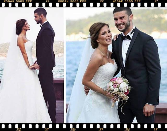 BERK OKTAY nunta cu MERVE SARAPCIOGLU