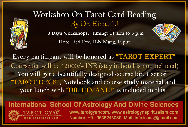 Online Tarot Card Reading In Hindi For Love, Job, Success