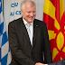 """Seehofer trifft mazedonische Delegation - """"Dank für historische Leistung"""""""