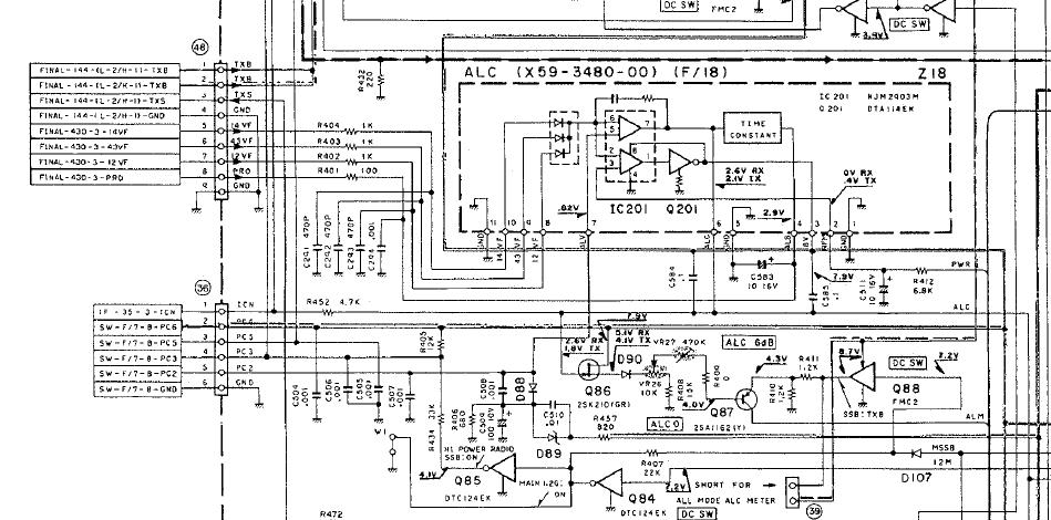 M1ABK's Ham Radio Blog: TS-790 Repair