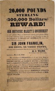Recompensa ofrecida por encontrar la expedición perdida de John Franklin