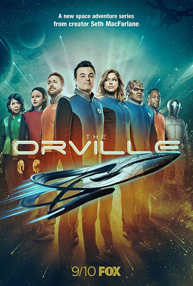 orville serial macfarlane family guy star trek