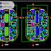 مخطط وصفي لعمارة سكنية اوتوكاد dwg