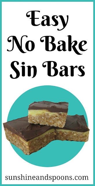 Easy No-Bake Sin Bars Recipe