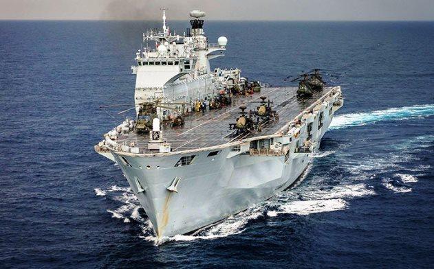 Το έχασε το HMS Ocean η Τουρκία πάει στη Βραζιλία