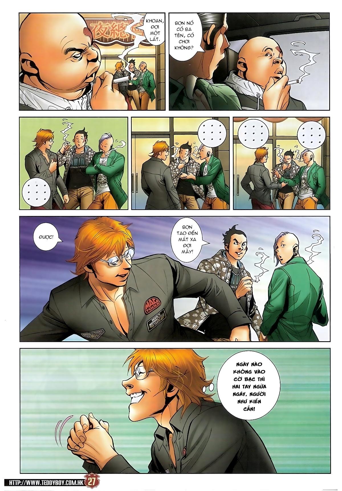 Người Trong Giang Hồ - Chapter 1567: Chơi bẩn - Pic 26