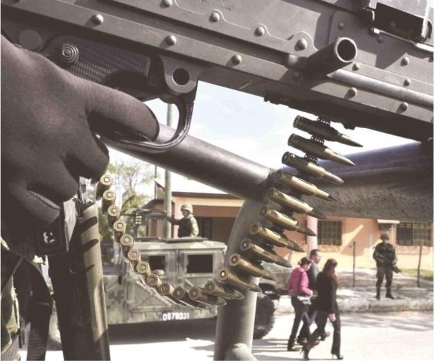 Combaten sicarios y Fuerzas Federales en la Ribereña