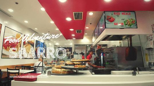 Sbarro Restaurant Review
